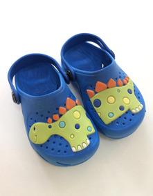 3eca007e92f Babuche Crocs Plugt Infantil Ventor Dinossauro