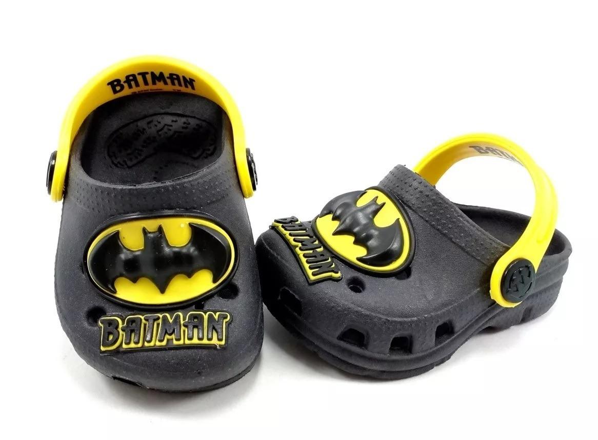 470e133ff7 babuche sandália infantil masculino menino batman. Carregando zoom.