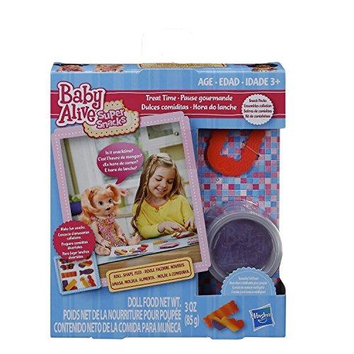 baby alive accesorios paquete 3 artículos 1 super aperitivos