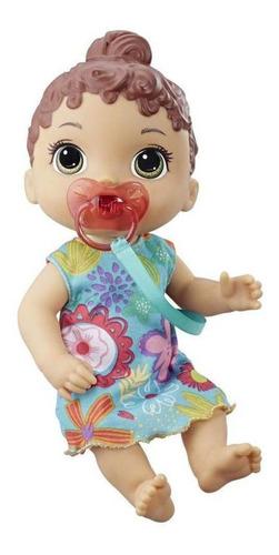 baby alive bebê primeiros sons - morena - hasbro