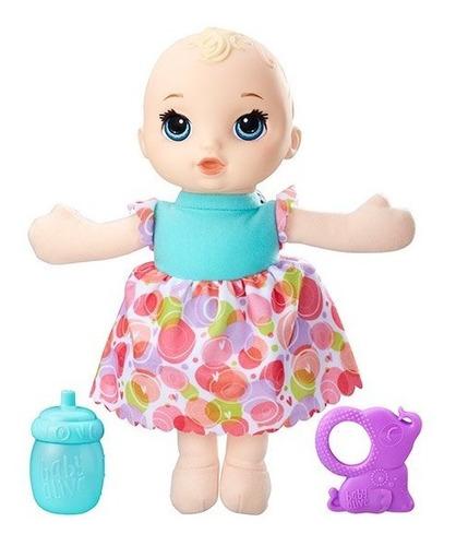 baby alive bebé sueñitos rubia