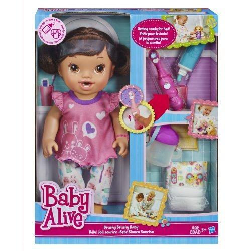 Baby Alive Brushy Brushy Baby Doll Brunette 2 057 82