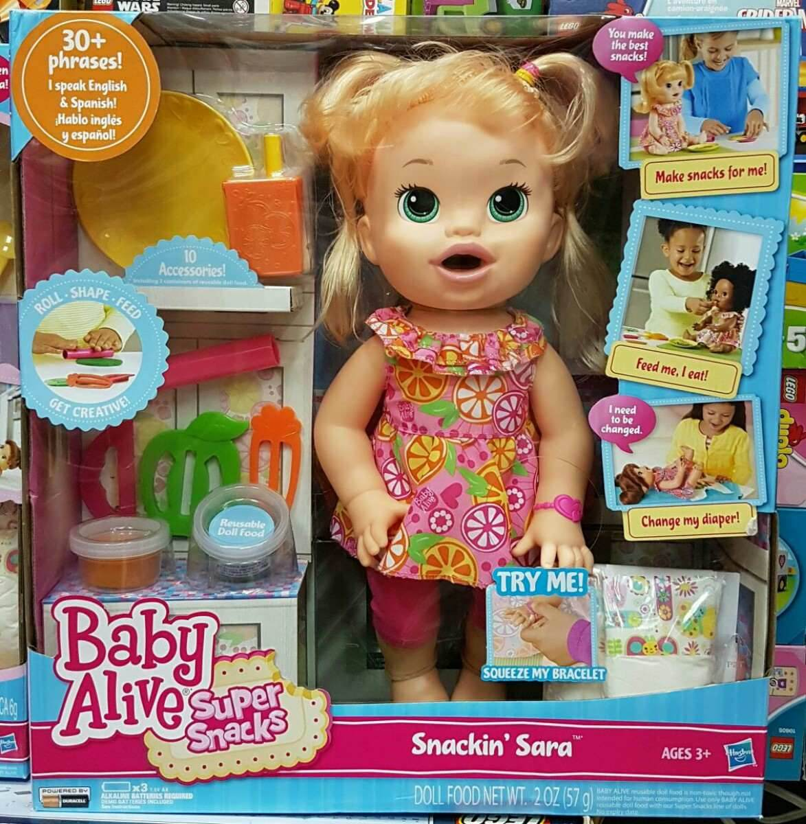 Baby Alive Comilona Loira Fala Espanhol R 599 00 Em