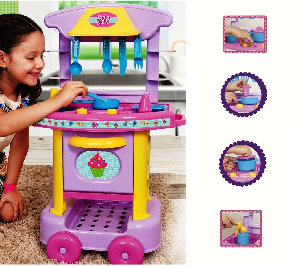 Baby Alive Cozinha Divertida 2070 Cotipl S R 119 99 Em Mercado