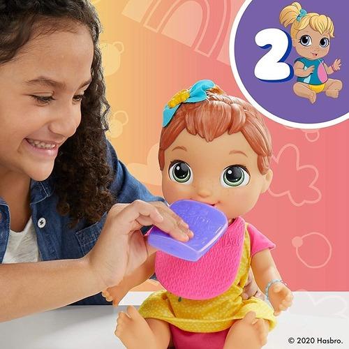 baby alive crece de verdad muñeca bebe habla e8199 hasbro ed