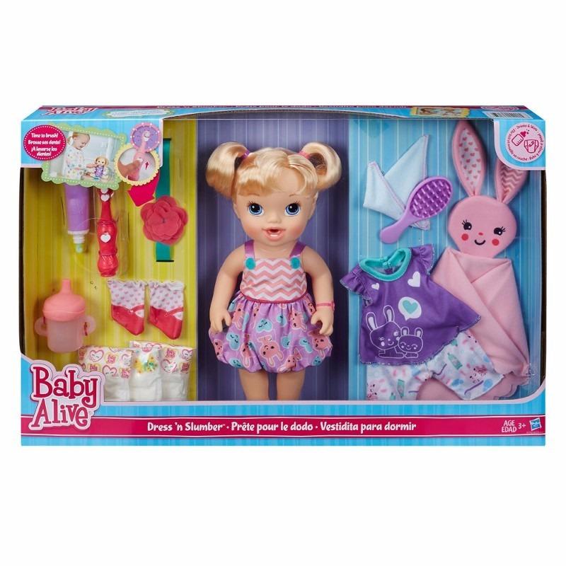 Baby Alive Festa Pijama Loira Hasbro