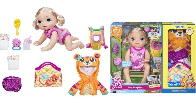 3a585190233 Baby Alive Go Bye Bye Loira - Importada Dos E U A Original - R$ 599,00 em  Mercado Livre