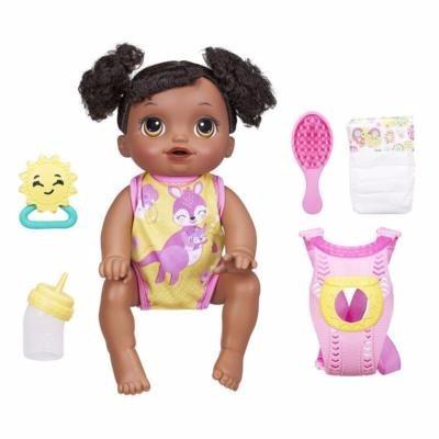 Baby Alive Hora Do Passeio Negra Engatinha Faz Xixi E Fala