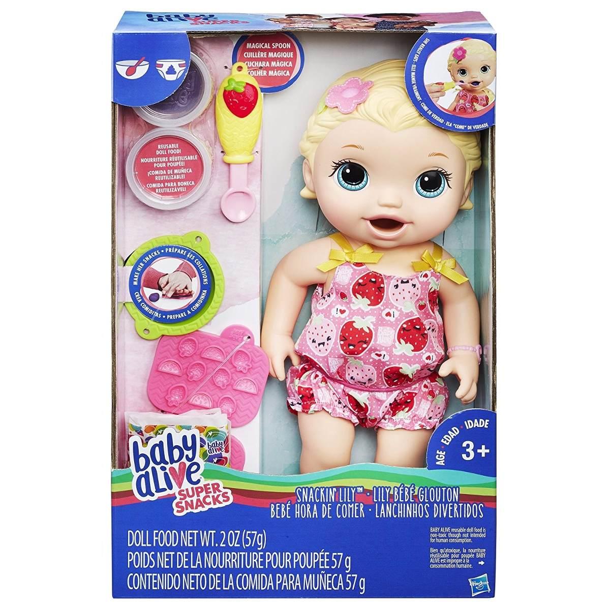 Baby Alive Lily Comiditas Divertidas 1 299 00 En