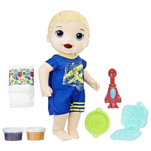 baby alive luke super snacks-comiditas divertidas (4006)
