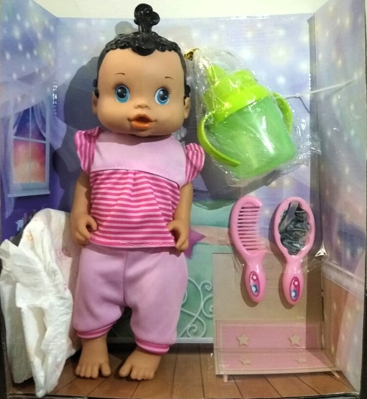 cff6617e6e Baby Alive Morena - Fala