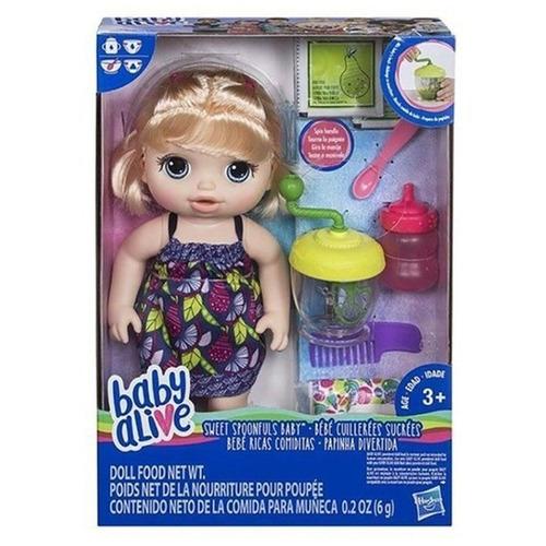 baby alive muñeca comiditas rica cocina hasbro e0586