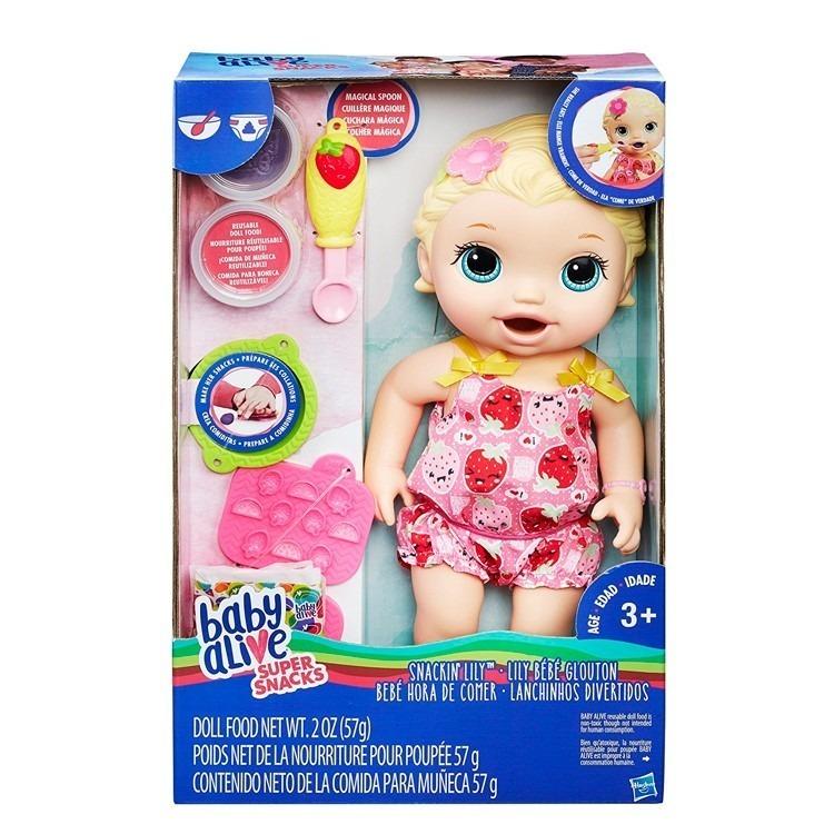 233fe05649 Baby Alive Muñeca Hora De Comer (hasbro) -   2.950