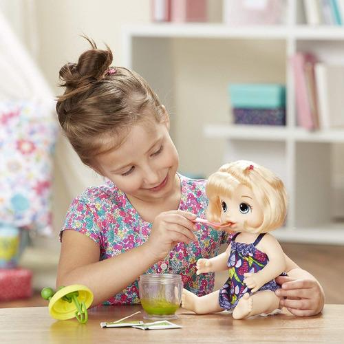baby alive muñeca ricas comiditas e0586