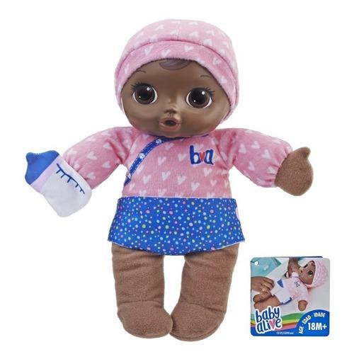 baby alive negra boneca dorme bebê e3090 - hasbro original