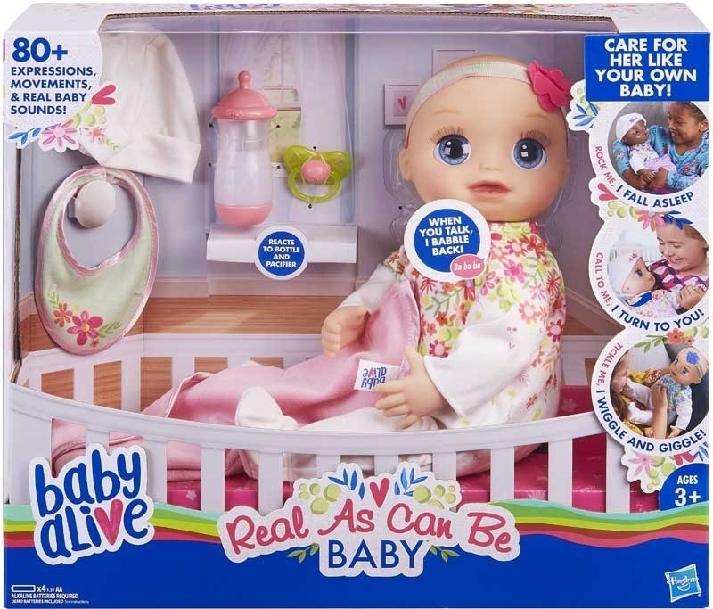 Toy *** Baby Baby Alive Real As Can Be Baby!
