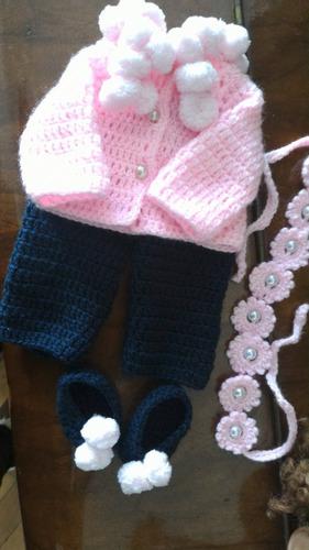 baby alive roupinha de inverno em crochê com pompons