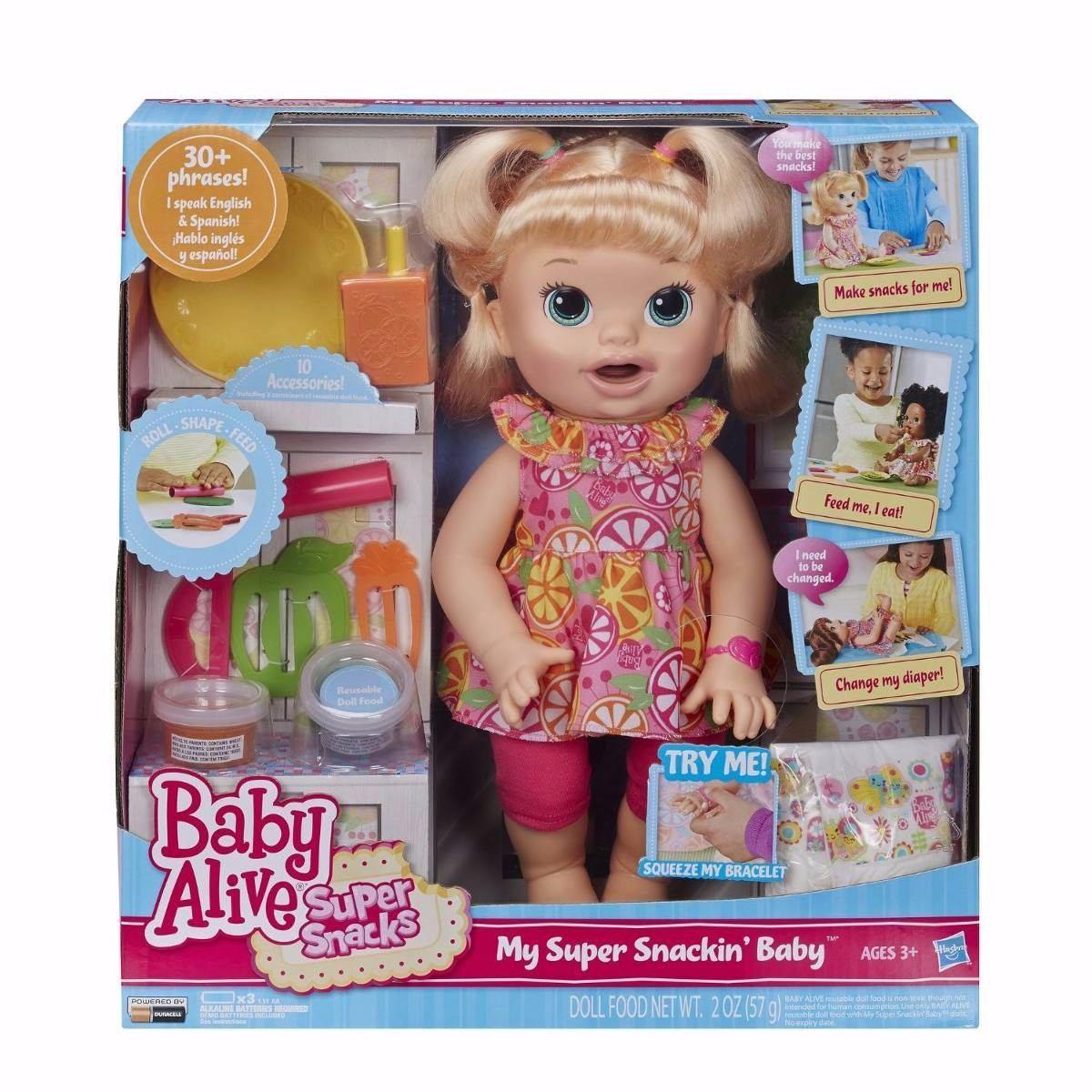 Baby Alive Sara Comiditas Divertidas 1 998 00 En