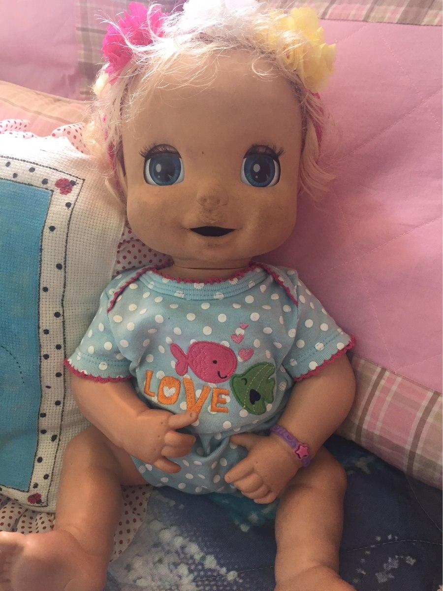 Baby Alive Surpresa Antiga Com Avarias No Ros Funciona