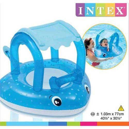 baby bote inflável - arraia - intex