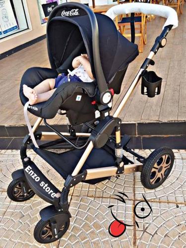baby car stroller moises berco luxo importado 3 em 1