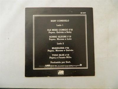 baby consuelo 1979 ele mexe comigo - compacto ep 44