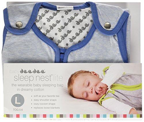 baby deedee sleep nest lite saco de dormir para bebes heathe