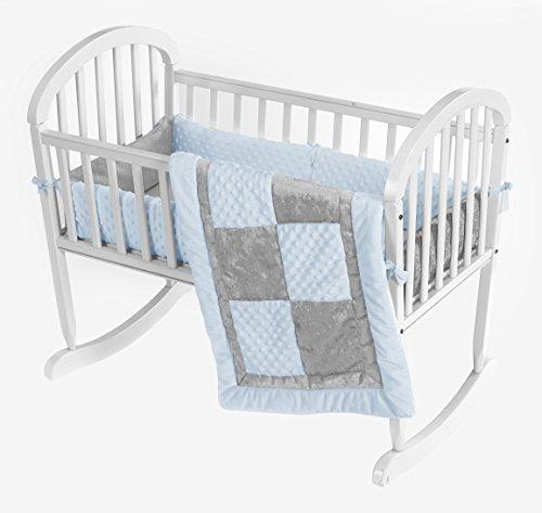 baby doll ropa de cama croco minky cradle juego de cama,...