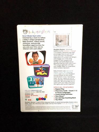 baby einstein dvd ( baby mozart, baby neptuno, números)
