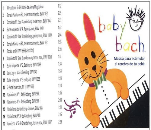 baby einstein/ musica clasica/ cd/ estimulacion