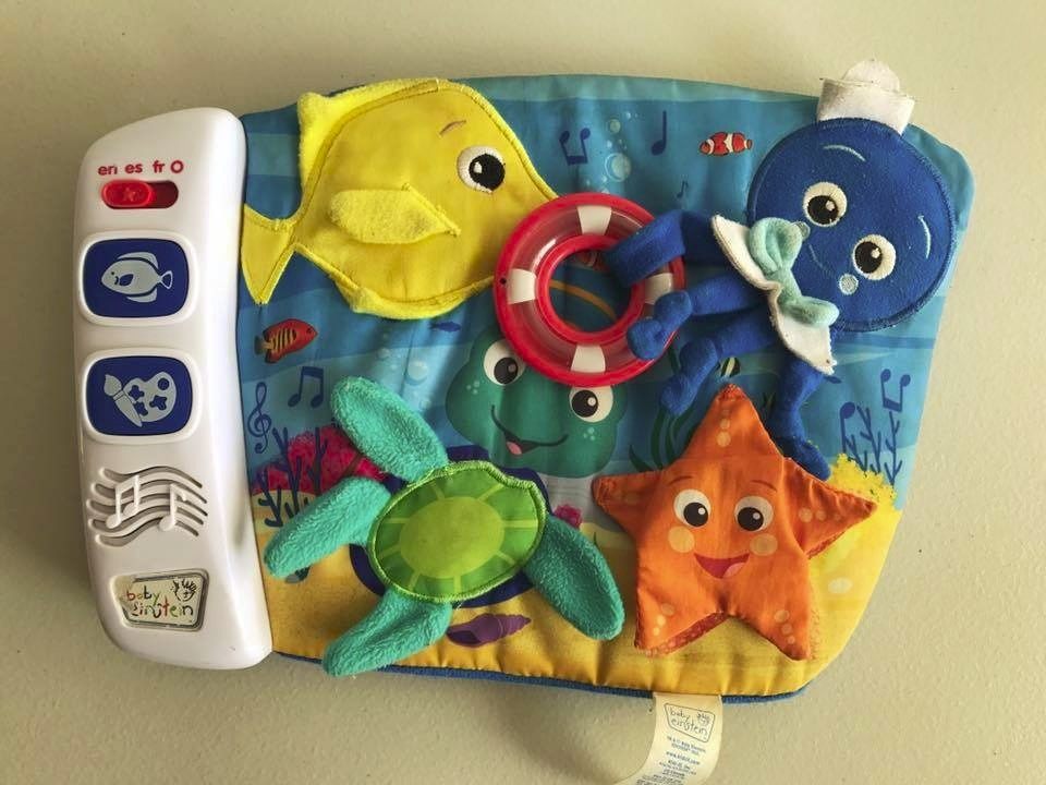 9e52289f8 Baby Einstein Ocean Exploration Play Pad -   288.00 en Mercado Libre