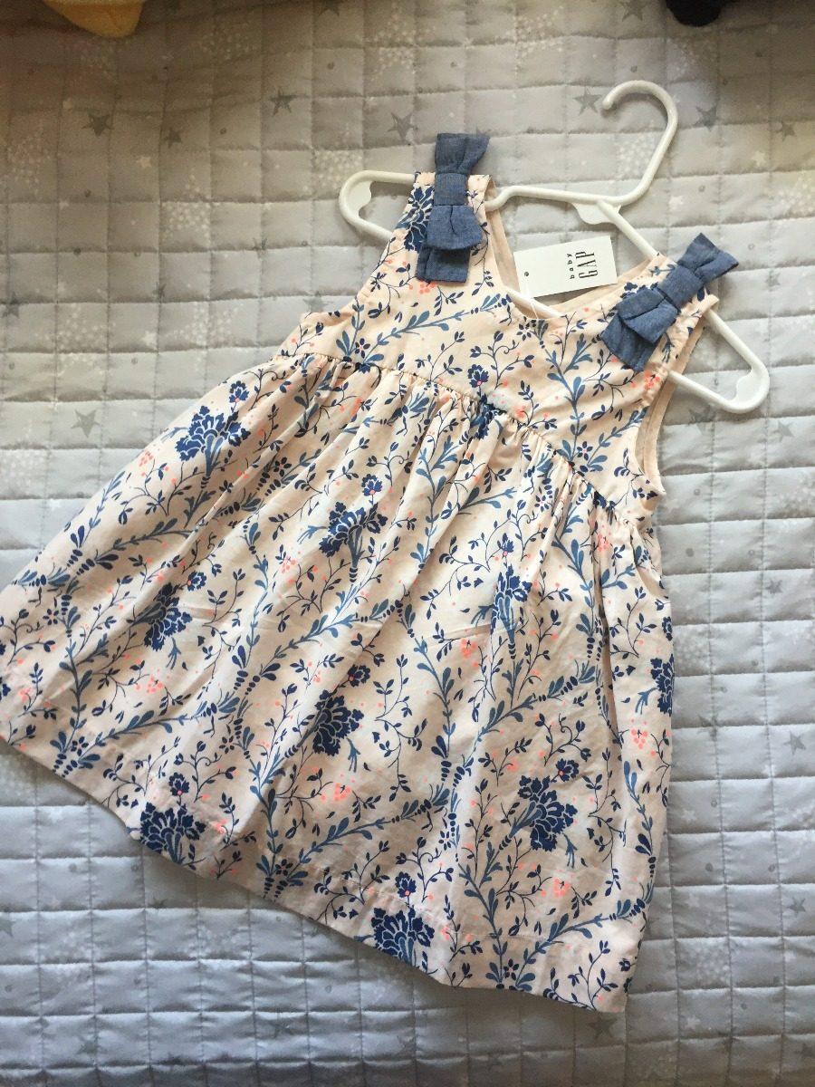 f886d283e Baby Gap Vestido Bebé Niña Talla 18-24m *envio Gratis* - $ 599.00 en ...