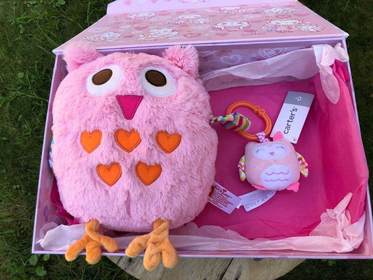 Baby Girl Owl Con Capucha De Lana 3328f3435fb