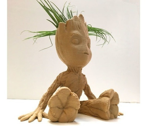 baby groot macetero mini