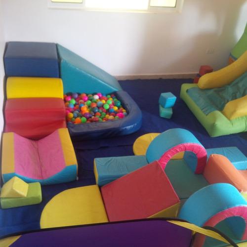 baby gym, piscinas, parque infantiles, carritos, balancines.