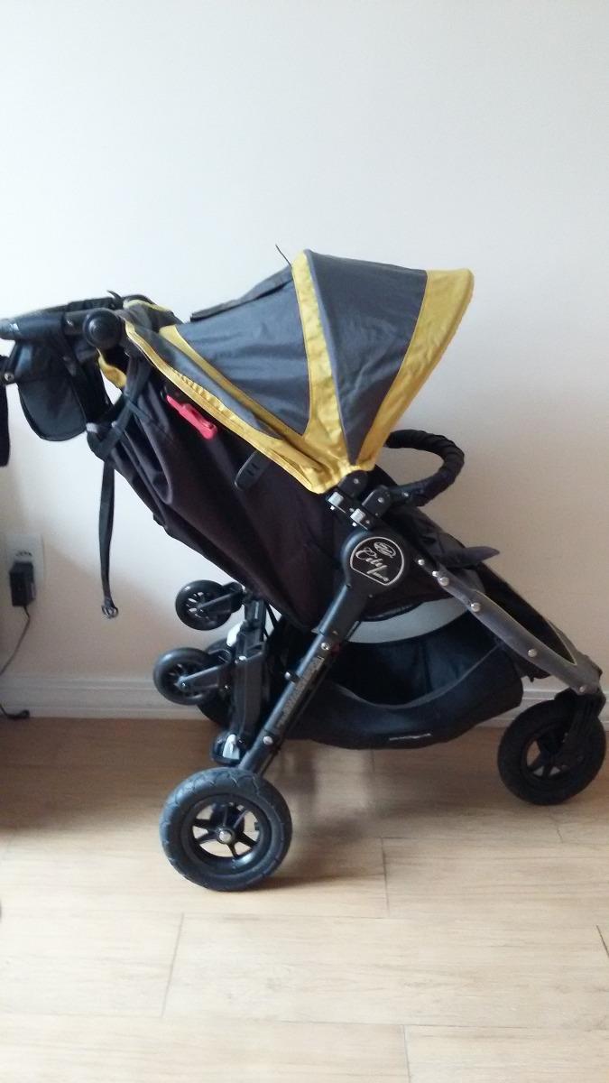 Baby Jogger City Mini Gt Verde Com Vários Acessórios