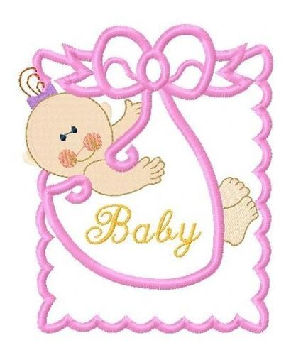 baby joy aplique - coleção de matriz de bordado