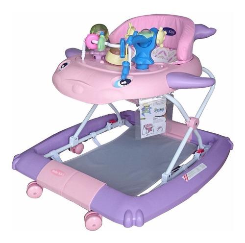 baby kits - andador ballenita rosa