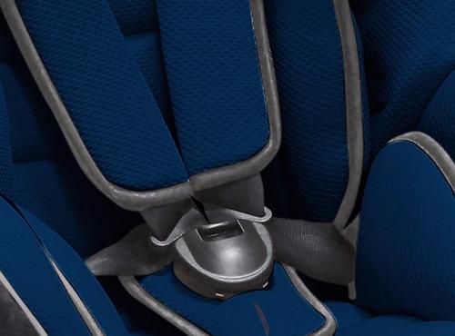 baby kits asiento para auto rally - azul