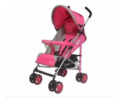 baby kits - coche bastón fiesta rosado
