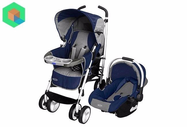 9faeb11ac Baby Kits - Coche Para Bebe Travel System Cross - Azul - S/ 540,00 ...