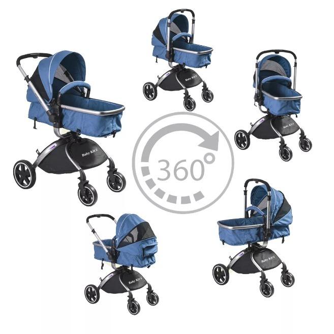 fd7e0e6e5 Baby Kits - Coche Para Bebe Travel System F80 - Azul - S/ 1.109,00 ...