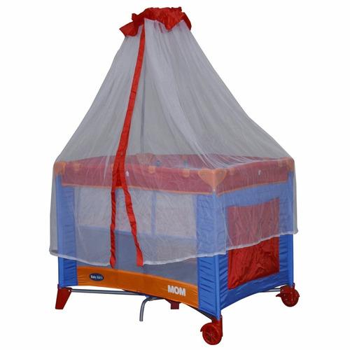 baby kits - cuna corral mom rojo