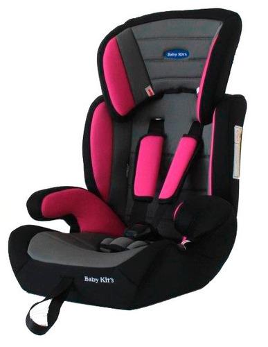 baby kits - silla auto para bebés suzuka 2 en 1 rosado