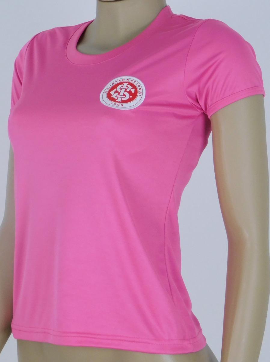 Baby Look Do Internacional Feminino Rosa Dry Inter Rosa 313 R 89 90 Em Mercado Livre