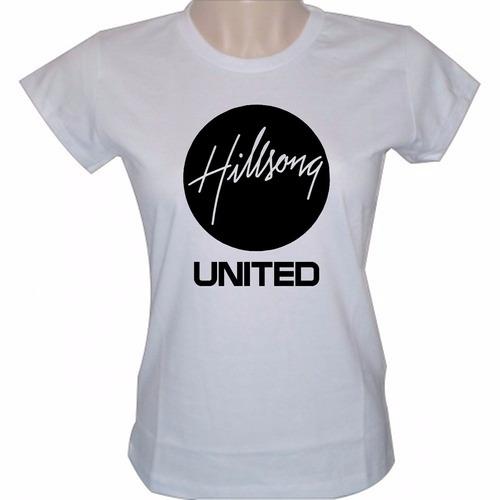 baby look feminina hilsong united banda camisa rock gospel