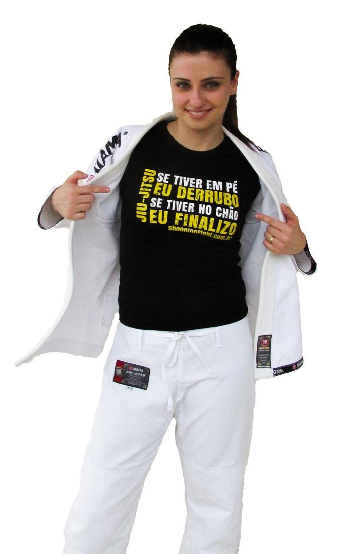 Baby Look Feminina Jiu Jitsu Baby Look Frase De Jiu Jitsu R 39