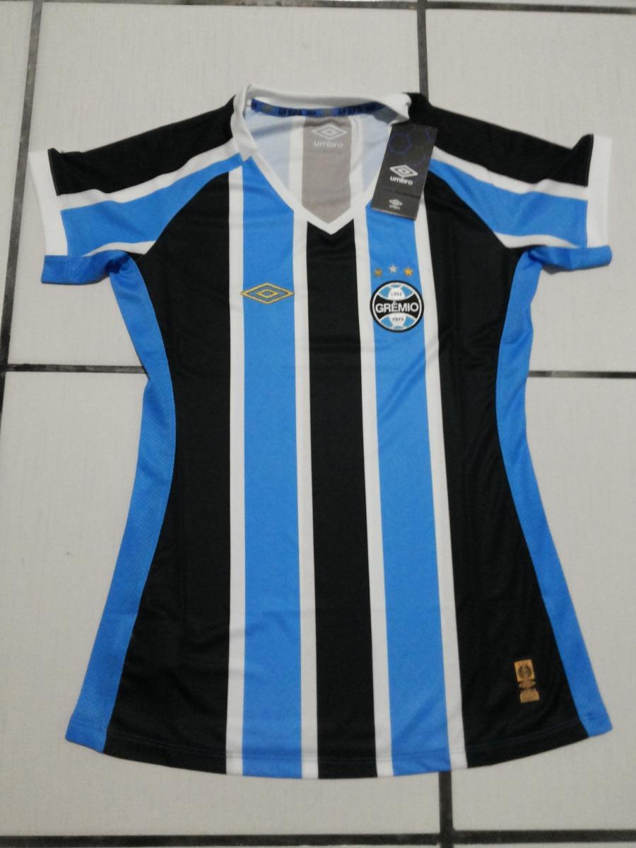 Baby Look Grêmio Tricolor 2015 Umbro Oficial - Pronta Ent. - R  150 ... 415bb8bc26d1e