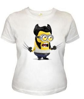 baby look - minions wolverine