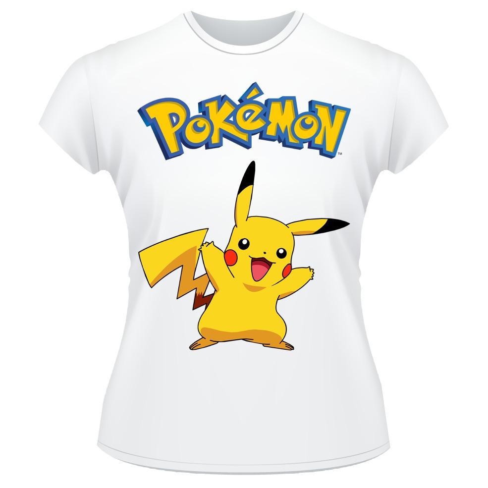 042c500894 baby look pokemon go pikachu anime desenho camiseta feminina. Carregando  zoom.